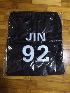 BTS Jin Drawstring Bag