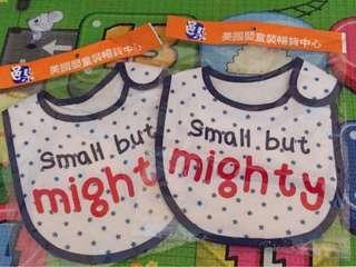 🚚 全新 嬰兒圍兜兜 口水巾