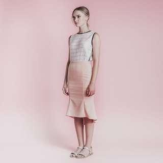 Soigne The Label Asymmetrical Mermaid Skirt