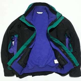 COLUMBIA BUGABOO Outdoor Jacket Made in USA