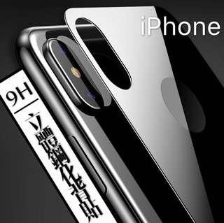 立體鋼化全覆蓋背貼 iPhone X