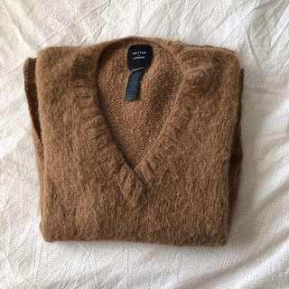 Smythe x augden alpaca medium sweater