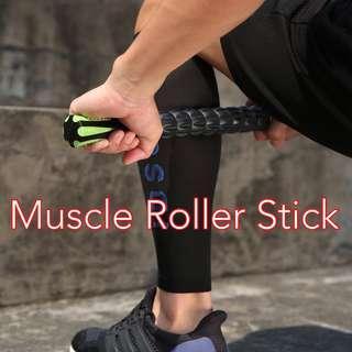 Instock 3D Muscle Roller Stick Massager Relaxer Massage Sports Injury Relax Tense Muscle Alleviate