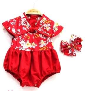 Chinese New Year Romper
