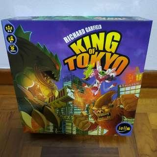 King of Tokyo with expansion Power Up