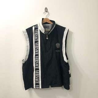 VINTAGE VERSACE SPORTS EMBROIDED VEST