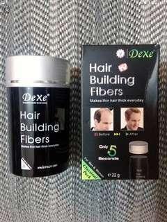 脫髮——DeXe 脫髮,增髮纖維