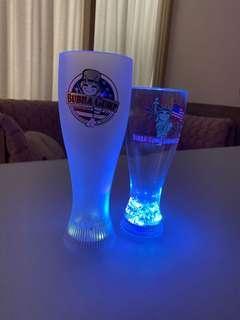 Bubba Gump 閃燈水杯/啤酒杯