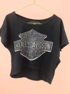 Crop tee Harley Davidson