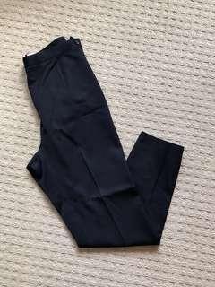 Comme de garçons navy pants size 27