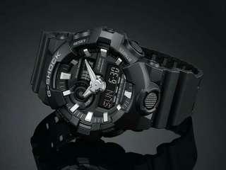 Casio G-Shock Black Series GA-700-1B