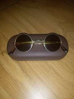 Sunglasses vintage (gold plated)