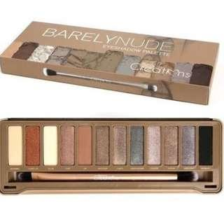 BEAUTY CREATIONS BARELY NUDE EYESHADOW PALETTE