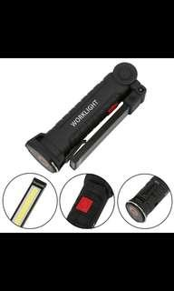 Handheld LED torchlight magnetic base