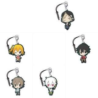 🚚 Mekakucity Actors trading metal charm strap collection