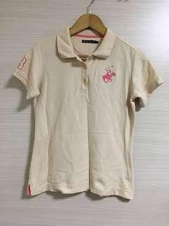 Pale Orange Polo Club Tee Women