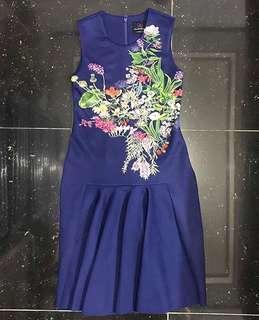 Plains and Prints St.Barts sl dress