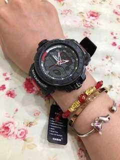 saleclaw machine(brand new)cold light watch 娃娃機出貨 全新未使用 g-shock casio 運動款冷光手錶⌚️sale