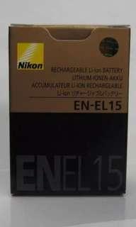 Nikon EN-EL15 Rechargeable Lithium-Ion Batter