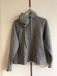 Top shop grey hoodie