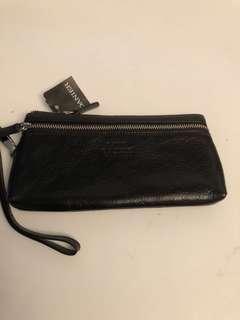 Danier  Leather wristlet BNWT