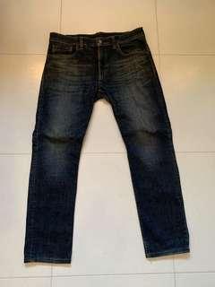 Muji Slim cut jeans