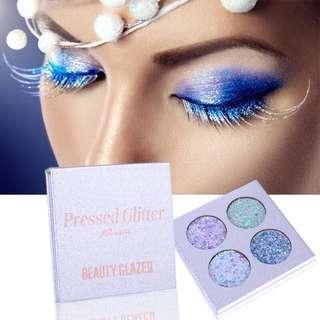 BEAUTY GLAZED 4 Colors Eyeshadow Palette
