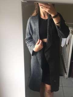 Zara knit overcoat