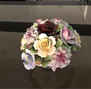 Royal Doulton bone china antique bridal bouquet.
