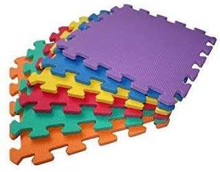 Playmat Puzzle Plain Colored