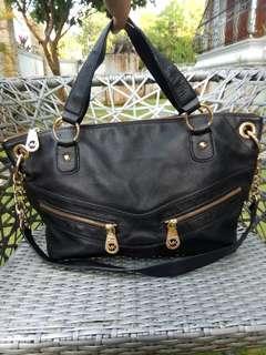 Mk medium 2 way black bag