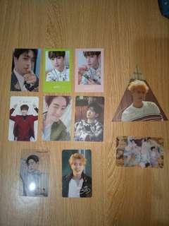 GOT7 Album Official Photocards