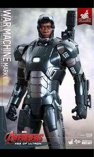 Hot toy age of Ultron war machine mark 2