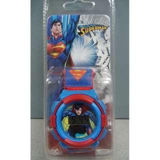 DC Superman Velcro Graphic Watch