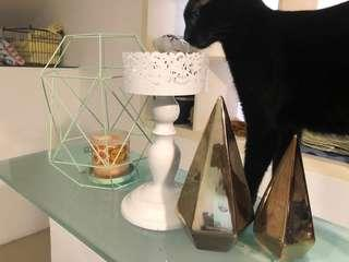 Candle stand and decoration