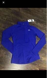 Adidas quarter zip BNWT