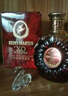 舊裝80年代REMY MARTIN XO SPECIAL 人頭馬大禾花2號有盒(350ml)