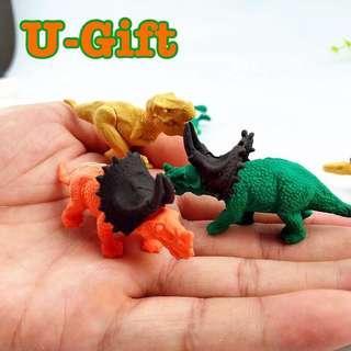 [STA]3 Pcs 3D Dinosaur Eraser