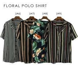 Trends Men's Floral Polo Shirt 15A0002