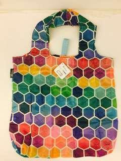 (NEW & UNUSED) erin condren waterproof foldable & reuseable Tote Bag