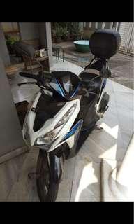 Honda Vario 125cc 2012 white blue