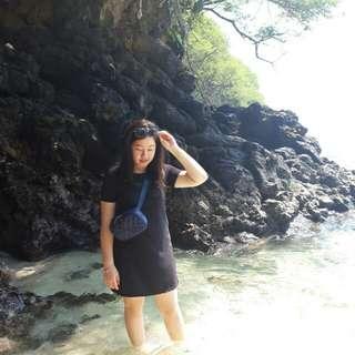 Black Mini Dress #jumat80