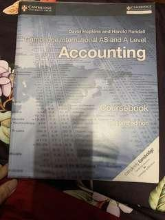 A Level Accounting Textbook