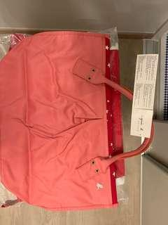 Unused Brand New Pink Agnes B Handbag Letting Go at Cheap Price