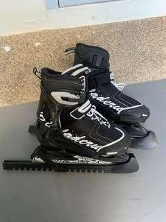 Blade Runner Ice Skating Shoes