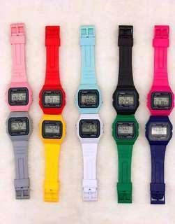 Silicon/rubber Casio watches