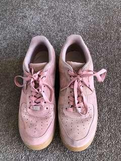 air force one pink  women size 11