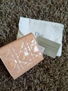 Brand New Christian Dior Pink Compact Wallet
