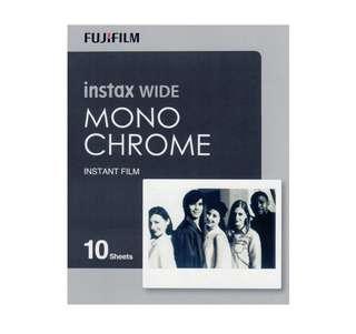 Monochrome Wide Instax/Polaroid Film