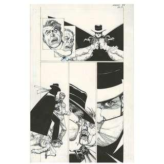 SHADOW: MIDNIGHT IN MOSCOW #4 PAGE 17 ORIGINAL ARTWORK HOWARD CHAYKIN
